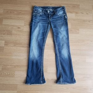SILVER Tuesday Bootcut  Jeans Size 26/26.5